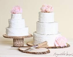 Rustic Wedding Cake Knife Serving Set Item Number 140322NEW ITEM