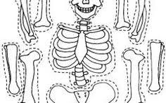 Skeleton Coloring Pages To Print Gallery