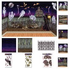 Scene Setters Halloween by 28 Scary Halloween Scene Setters Freddy Kreuger Wall Roll