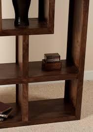 Open Bookcase by Mango Walnut Tall Open Bookcase Shelving Unit Casa Bella