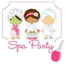 Spa Girl Cliparts
