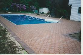 swimming pool pavers what you need to concrete pavers guide