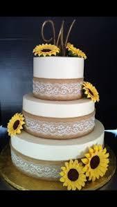 Rustic Wedding Cake Ideas Amusing Sunflower Cakes