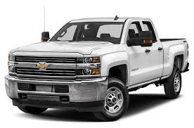 2017 Chevrolet Silverado 2500HD WT 4x4 Double Cab 8 Ft. Box 158.1 In ...