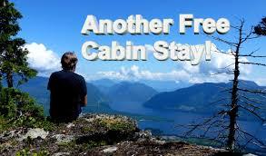 The Sunshine Coast Trail Free cabin stay at Walt Hill Cabin
