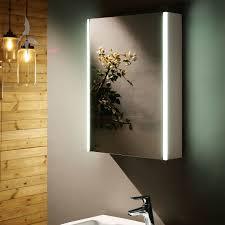 krefeld bad spiegelschrank led beleuchtet 50x70x14cm