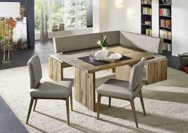 moderne eckbank in leder massivholz naturnah möbel
