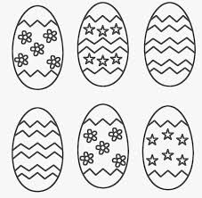 Coloring Pages Easter Eggs Egg Sheets Free Sheet
