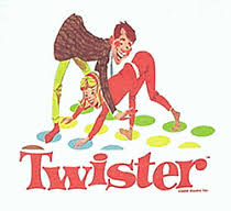 Twister Board Game Clipart