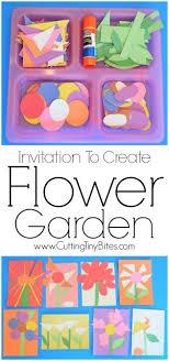 Invitation To Create Flower Garden
