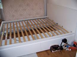 Ikea Malm Queen Bed Frame by Malm Bed Frame Low Malm Bed Storage Box For High Bed Frame White