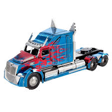 Fascinations Optimus Prime Western Star 5700 Truck Unassembled 3D ...