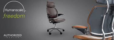 Human Scale Freedom Chair Manual by Custom Humanscale Freedom Chair With Headrest In Leather