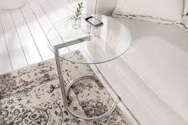 deco beistelltisch effect 45cm chrom glas kaufland de