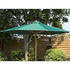 100 House And Home Pavillion Garden Parasol In Green