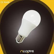 high brightness led a60 led bulb e27 emc approved color