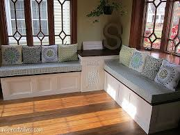 Kitchen Storage Bench Seat Beautiful 95 Dining Room With Cushion Back
