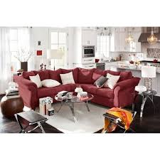 Value City Red Sectional Sofa by Best 25 Value City Furniture Sectionals Ideas On Pinterest