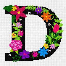 Hanging Letter E Alphabet Wood Slice 7Cm Hobbycraft