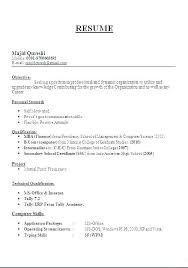 Resume For Teaching Jobs Job Format Sample Teacher Doc