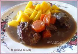 la cuisine de bistrot cuisine de bistrot joues de porc braisées au vin la