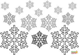 Snowflake Coloring Pages Printable Popular Free