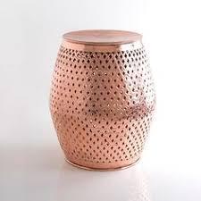 Project Ideas Copper Garden Stool Impressive Decoration Copper