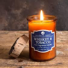Spirit Jar Whiskey & Tobacco – Northern Lights Candles