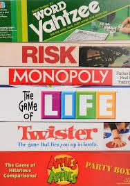 Download Classic Board Games Closeup Editorial Photo
