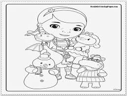 Amazing Of Free Doc Mcstuffins Coloring Pages With D 747