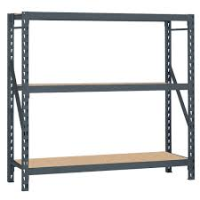 Furniture Use Edsal Shelving At Your Garage To Save Your Tools