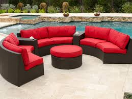 Northcape Patio Furniture Cabo by Chic And Creative Curved Patio Furniture Brilliant Decoration