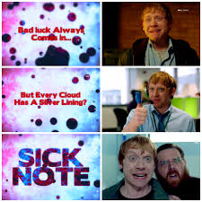 100 Rupert Grint Ice Cream Truck And Nick Frost Sick Note 2017