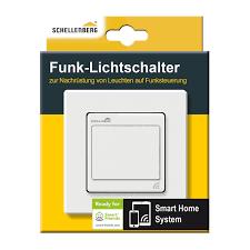 schellenberg 21002 funk lichtschalter unterputz