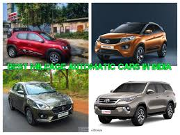 Best Mileage Automatic Cars In India - Price And Specifications