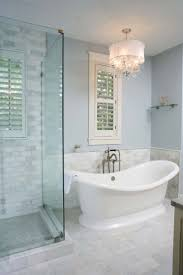 Mini Chandelier Over Bathtub by Best 25 Freestanding Tub Ideas On Pinterest Bathroom Tubs