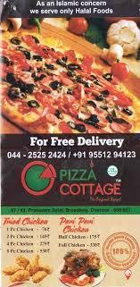 Pizza Cottage Menu Broadway Menu Card Prices Rates Cost