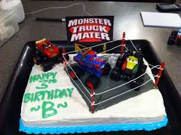 My Sons Monster Truck Mater Birthday Cake | Home Made | Pinterest ...
