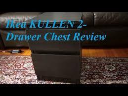 Ikea Kullen 5 Drawer Dresser by Review Ikea Kullen 2 Drawer Chest Youtube