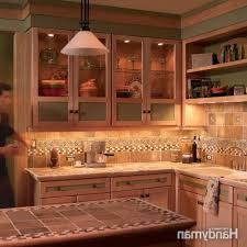 how to install cabinet lighting in your kitchen the family