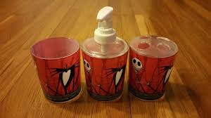 Nightmare Before Christmas Bath Toy Set by Nightmare Before Christmas Bathroom My Web Value