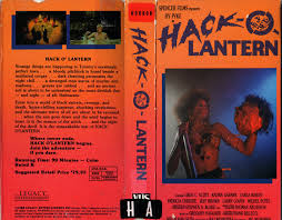 Wnuf Halloween Special Vhs by The Horrors Of Halloween Hack O Lantern 1988 Pressbook Vhs And