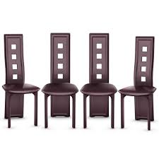 Costway Set Of 4 Dining Chairs Steel Frame High Back Armless ... Arbor Home Ding Room Frazier Armless Chair Arb1915 Walter E Smithe Fniture Design Rendo Outdoor D803 Contemporary With Metal Legs By Global At Value City Bas Chairs Quilt Black Leatherette Details About Set Of 2 Kitchen Side Amazoncom Wood Modern Gray Indoor Frame Nilkamal Hampton Blackbrown Newark In Grey Espresso Armen Living 4 Steel High Back