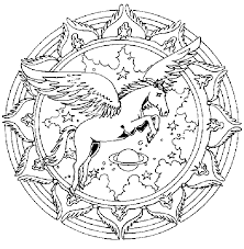 Free Animal Mandala Coloring Pages