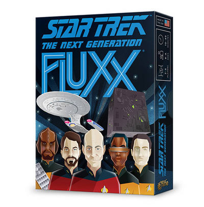 Star Trek The Next Generation Fluxx Board Game