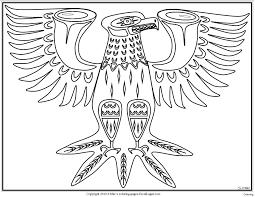 Bird Totem Pole Stock Vector Images Alamy
