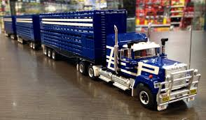 Highway Replicas Livestock Mack Road Train Blue & White Die Cast ... Farm Toys For Fun A Dealer Toy Cattle Hauling Trucks Wyandotte Dodge Cab Great Plains Cattle Ranch Tt Truck 40s V Collectors Official Tekno Distributors Suppliers 12002 Livestock Road Train Highway Replicas Model Trucks Diecast Tufftrucks Australia Rural Toys Getyourpitchforkon Wooden Toy B Double Kenworth And Youtube 120th 28 Sundowner Trailer By Big Country