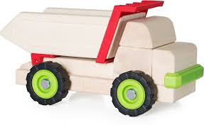 100 Big Toy Dump Truck Block Science Stevensons S