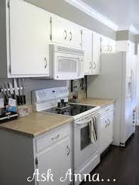 Painted White Cabinets With Appliances Not Really The Look I Would Like But