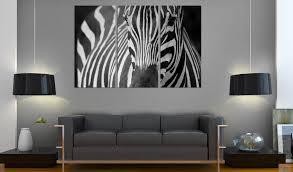 wandbild mrs zebra